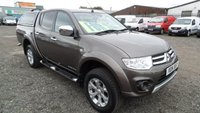 USED 2014 14 MITSUBISHI L200 2.5 DI-D 4X4 BARBARIAN LB DCB 1d 175 BHP NO VAT 72000 MILES FULL SERVICE HISTORY 6 MONTHS UK WARRANTY 12 MONTHS MOT VERY NICE PICK UP FULL LEATHER TRIM LOW RATE FINANCE