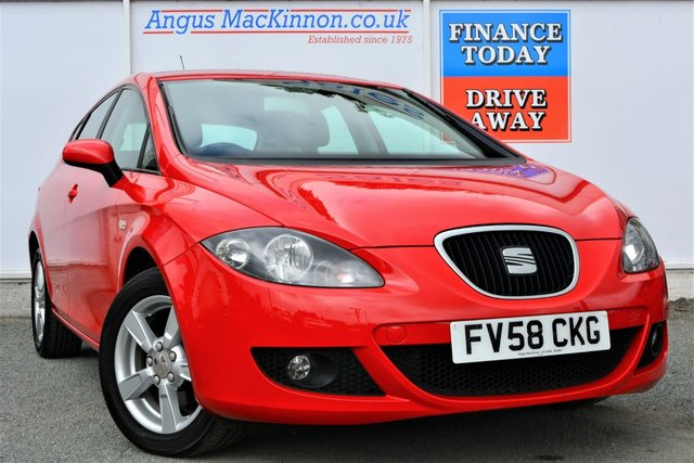 2008 58 SEAT LEON 1.6 EMOCION Great Value Well Maintained Petrol 5dr Family Hatchback