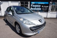 USED 2007 57 PEUGEOT 207 1.4 SE 5d 94 BHP HISTORY-PAN ROOF-ALLOYS Service History 6 Stamps, 12 Mths MOT, Pan Glass Roof