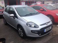 USED 2011 11 FIAT PUNTO EVO 1.4 GP 5d 77 BHP 48000 miles, alloys, air/con, 5door, economical. Superb,