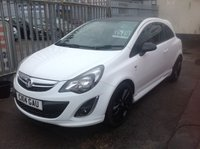 2014 VAUXHALL CORSA 1.2 LIMITED EDITION 3d 83 BHP £5795.00