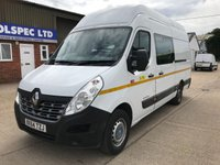 USED 2015 64 RENAULT TRUCKS MASTER 2.3 135.35 L3H3 LWB MAXI ROOF 135ps MESS VAN