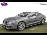 2014 AUDI A5 2.0 SPORTBACK TDI S LINE 5d 177 BHP £14295.00