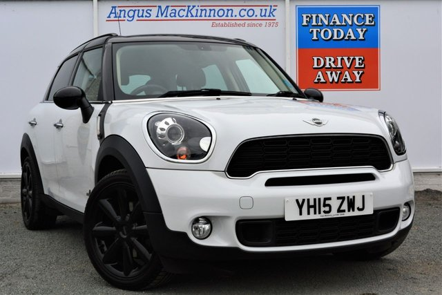 2015 15 MINI COUNTRYMAN 1.6 COOPER S High Spec ALL4 4x4 Petrol 5dr Family SUV