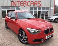 2012 BMW 1 SERIES 1.6 116I SPORT 5d 135 BHP £7750.00