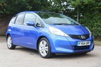 2014 HONDA JAZZ 1.3 I-VTEC ES PLUS 5d 99 BHP £6850.00