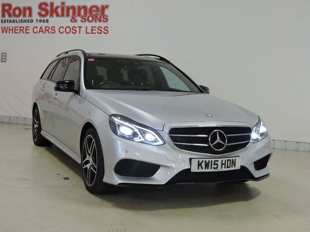 View our 2015 15 MERCEDES-BENZ E CLASS (107)  2.1 E220 BLUETEC AMG NIGHT EDITION PREMIUM 5d 174 BHP
