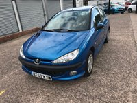 USED 2003 53 PEUGEOT 206 1.4 ENTICE 5d 74 BHP LONG MOT TILL AUGUST 2019-1.4 PETROL-5 DOOR