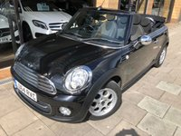 USED 2014 64 MINI CONVERTIBLE 1.6 COOPER [PEPPER PK] 2d 122 BHP