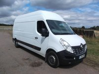 USED 2016 66 RENAULT MASTER 2.3 LH35 BUSINESS ENERGY DCI 5d 110 BHP High Roof, LWB LWB