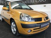 2009 RENAULT CLIO 1.1 DYNAMIQUE 16V 3d 75 BHP £1499.00