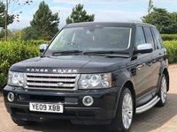 2009 LAND ROVER RANGE ROVER SPORT 3.6 TDV8 SPORT HSE 5d AUTO 269 BHP £11995.00