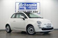 2012 FIAT 500 1.2 LOUNGE 3 DOOR HIGH SPEC 70 BHP £4790.00