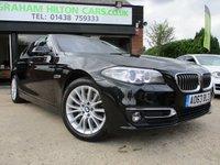 2013 BMW 5 SERIES 3.0 530D LUXURY 4d AUTO 255 BHP £16000.00