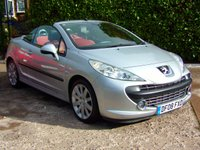 2008 PEUGEOT 207 1.6 GT COUPE CABRIOLET 2d 118 BHP £2495.00