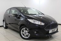 USED 2014 14 FORD FIESTA 1.2 ZETEC 3DR 81 BHP 1 Owner Full Service History  FULL SERVICE HISTORY + BLUETOOTH + MULTI FUNCTION WHEEL + AIR CONDITIONING + RADIO/CD + 15 INCH ALLOY WHEELS
