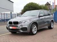 USED 2014 14 BMW X5 2.0 SDRIVE25D M SPORT 5d AUTO  BLACK HEATED LEATHER WITH MEMORY ~ FULL BMW HISTORY~ PROFESSIONAL NAVIGATION  & MEDIA ~ DAB ~ XENON HEADLIGHTS ~ INTERIOR LIGHT PACKAGE