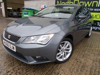 USED 2016 66 SEAT LEON 1.6 TDI SE DSG 5d AUTO 110 BHP Excellent Condition, FSH, Only One Owner, No Deposit Finance Available