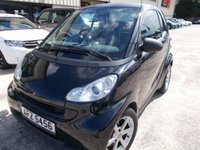 USED 2010 SMART FORTWO 0.8 PULSE CDI 2d AUTO 54 BHP Excellent Condition, FSH, Low Rate Finance Available, No Deposit Necessary
