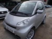 USED 2009 SMART FORTWO 1.0 PASSION MHD 2d AUTO 71 BHP Brilliant City Car, No Deposit Finance Available, Super MPG