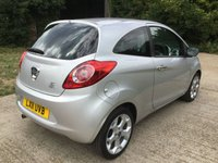 USED 2011 11 FORD KA 1.2 TITANIUM 3d 69 BHP GENUINE LOW MILES, 7 SERVICE STAMPS,