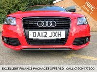 USED 2012 12 AUDI A3 2.0 SPORTBACK TDI S LINE BLACK EDITION 5d HALF LEATHER, BOSE STUNNING LOOKING HUGE SPEC A3, BARGAIN, BOSE LEATHER