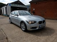 2011 BMW 1 SERIES 1.6 116I SE 5d AUTO 135 BHP £9750.00
