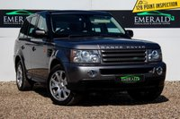 USED 2008 P LAND ROVER RANGE ROVER SPORT 2.7 TDV6 SPORT HSE 5d 188 BHP £0 DEPOSIT FINANCE AVAILABLE, AIR CONDITIONING, AUX/CD/RADIO, CLIMATE CONTROL, CRUISE CONTROL, FULL LEATHER UPHOLSTERY, HEATED SEATS, PARKING SENSORS, SATELLITE NAVIGATION, SELF LEVEL SUSPENSION, STEERING WHEEL CONTROLS
