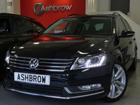 USED 2014 14 VOLKSWAGEN PASSAT ESTATE 2.0 TDI EXECUTIVE STYLE BLUEMOTION TECH 5d 140 S/S £30 TAX, 1 OWNER FROM NEW, FULL VW SERVICE HISTORY, SAT NAV, FULL BLACK LEATHER INTERIOR, HEATED FRONT SEATS, DAB RADIO, BLUETOOTH PHONE & MUSIC STREAMING, LED XENON LIGHTS WITH DAYTIME RUNNING LIGHTS, LED REAR LIGHTS, FRONT FOGS, FRONT & REAR PARKING SENSORS W/ DISPLAY, TINTED GLASS,18 INCH 10 SPOKE ALLOYS, BLACK ROOF RAILS, PARTIALLY ELECTRIC DRIVERS SEAT, SD CARD READER, LEATHER MULTIFUNCTION STEERING WHEEL, CRUISE CONTROL, LIGHT & RAIN SENSORS W/ AUTO DIMMING REAR VIEW MIRROR, DUAL CLIMATE A