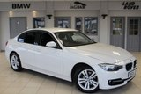 USED 2015 BMW 3 SERIES 2.0 320D SPORT 4d AUTO 181 BHP FULL BMW SERVICE HISTORY + FULL BLACK LEATHER SEATS + PRO SATELLITE NAVIGATION + REVERSE CAMERA + BLUETOOTH + XENON HEADLIGHTS + HEATED FRONT SEATS + £30 ROAD TAX + 17 INCH ALLOYS + PARK ASSISTANCE + ADAPTIVE CRUISE CONTROL + AUTOMATIC AIR CONDITIONING