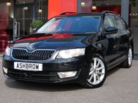 USED 2015 15 SKODA OCTAVIA ESTATE 1.6 TDI CR ELEGANCE 5d 105 S/S UPGRADE ADAPTIVE CRUISE CONTROL (ACC), UPGRADE HEATED FRONT SEATS, UPGRADE HEATED WINDSCREEN, SAT NAV, LEATHER ALCANTARA UPHOLSTERY, DAB RADIO, BLUETOOTH PHONE & AUDIO STREAMING, FRONT & REAR PARKING SENSORS WITH DISPLAY (PARK PILOT), PARK ASSIST WITH AUTOMATIC STEERING, AUX + USB INPUTS, 17 INCH 10 SPOKE ALLOYS, ELECTRIC HEATED FOLDING DOOR MIRRORS, LIGHT & RAIN SENSORS WITH AUTO DIMMING REAR VIEW MIRROR, 1 OWNER FROM NEW, FULL SKODA SERVICE HISTORY, £0 ROAD TAX