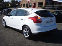 USED 2013 13 FORD FOCUS 1.6 ZETEC TDCI 5d 113 BHP ROAD TAX ONLY £20 A YEAR