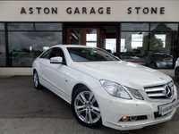 USED 2011 11 MERCEDES-BENZ E CLASS 2.1 E250 CDI BLUEEFFICIENCY SE 2d 204 BHP ** LEATHER * CRUISE ** ** LEATHER * CRUISE * FMSH **