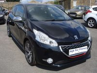 USED 2015 15 PEUGEOT 208 1.6 THP GTI 3d 200 BHP FULL SERVICE HISTORY LOW MILES