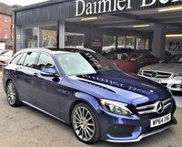 2015 MERCEDES-BENZ C CLASS 2.1 C220 BLUETEC AMG LINE PREMIUM PLUS 5d AUTO 170 BHP £19995.00