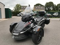 2012 CAN-AM SPYDER 1.0 SPYDER 990cc RS S 5 Speed SEMI Automatic  £11995.00