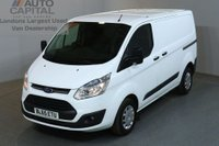 USED 2016 65 FORD TRANSIT CUSTOM 2.2 290 TREND LR P/V 5d 99 BHP AIR CON FWD DIESEL PANEL MANUAL VAN ONE OWNER AIR CONDITIONING