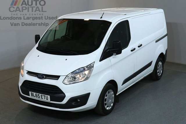 2016 65 FORD TRANSIT CUSTOM 2.2 290 TREND LR P/V 5d 99 BHP AIR CON FWD DIESEL PANEL MANUAL VAN ONE OWNER AIR CONDITIONING