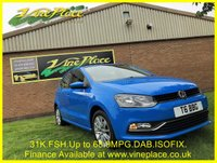 USED 2014 64 VOLKSWAGEN POLO 1.0 SE 5d 60 BHP +31K+DAB+ISOFIX+FSH+68MPG+