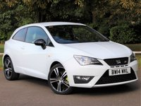 USED 2014 14 SEAT IBIZA 1.4 CUPRA TSI DSG 3d AUTO 180 BHP £168 PCM With £929 Deposit