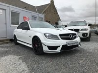 USED 2013 63 MERCEDES-BENZ C CLASS C63 AMG Edition 507 6.3 V8 Auto 4dr ( 507 bhp ) Best Available 9,000 Miles Armytrix Exhaust System PPF Ceramic Coating