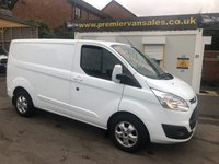 2017 FORD TRANSIT CUSTOM LIMITED EDITION 130 BHP TURBO  DIESEL TOP SPEC MODEL  AIR CON  SAY AS YOU SPEAK COMMANDS LEATHER STEERING WHEEL   BLUE TOOTH CRUISE  LOW MILES 21,000  ALLOYS  FORD WARRANTY REMAIN MARCH 2020  £SOLD