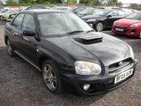 2005 SUBARU IMPREZA 2.0 WRX TURBO 4d 224 BHP £SOLD