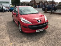 USED 2007 07 PEUGEOT 207 1.4 URBAN 3d 73 BHP 12 MONTHS MOT-LOW MILEAGE-1.4 PETROL-3 DOOR-CD PLAYER