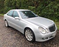 2007 MERCEDES-BENZ E CLASS 3.0 E280 CDI SPORT 4d AUTO 187 BHP £4499.00