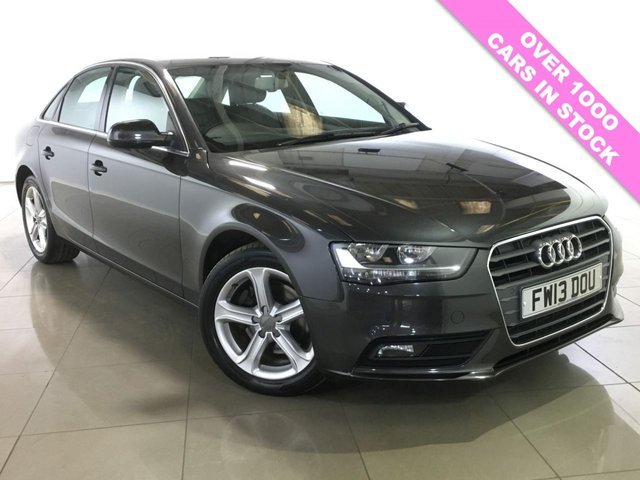 View our 2013 13 AUDI A4 2.0 TDI SE TECHNIK 4d AUTO 148 BHP
