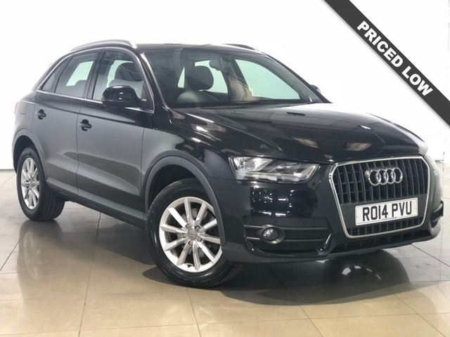View our 2014 14 AUDI Q3 2.0 TDI SE 5d 174 BHP