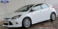 2012 FORD FOCUS 1.6 ZETEC S AUTO 5 DOOR 124 BHP £7990.00