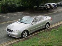 2004 MERCEDES-BENZ CLK 1.8 CLK200 KOMPRESSOR AVANTGARDE 2d AUTO 163 BHP £SOLD
