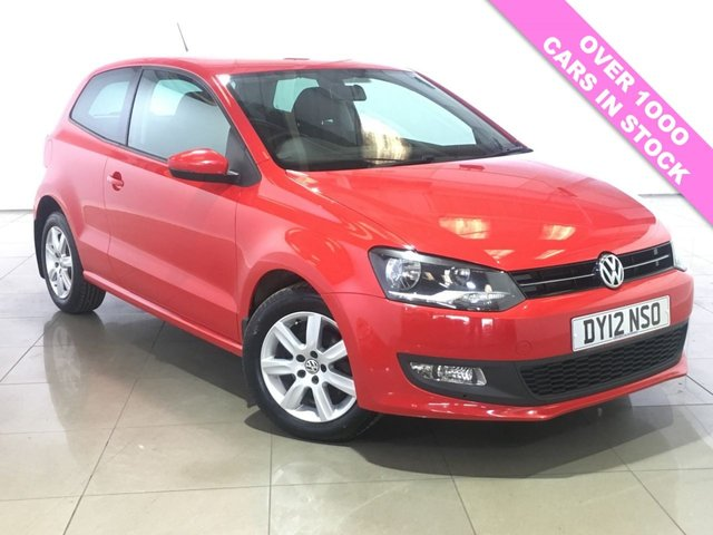 View our 2012 12 VOLKSWAGEN POLO 1.2 MATCH TDI 3d 74 BHP